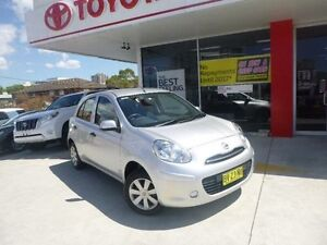 2012 Nissan Micra K13 Upgrade ST Silver 4 Speed Automatic Hatchback Allawah Kogarah Area Preview