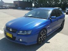 2004 Holden Commodore VZ SV6 Blue 5 Speed Auto Active Select Sedan Georgetown Newcastle Area Preview