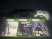 Xbox 360 320GB HDD, 2 controllers, 30+ games and kinect sensor.