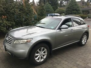2006 Infiniti FX35 low kms, no accidents, one owner, local