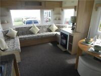NEW STATIC CARAVANS FOR SALE , BRAND NEW HOLIDAY HOME FOR SALE , NORTH EAST COAST , PET FRIENDLY