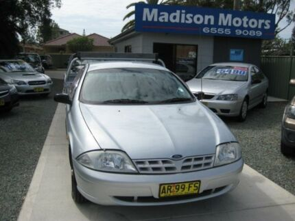2001 Ford Falcon Auii XL (LPG) Silver 4 Speed Automatic Cab Chassis
