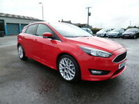 Ford Focus ZETEC S TDCI (red) 2015-03-01