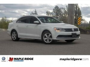 2016 Volkswagen Jetta Sedan Comfortline NO ACCIDENTS, LOCAL CAR,
