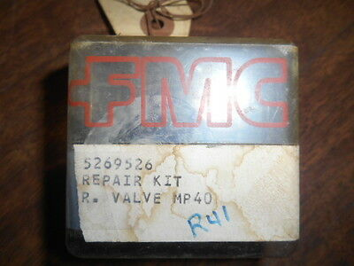 New Fmc John Bean Relief Valve Repair Kit For A Mp40  Kit 5269526