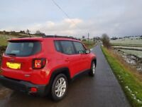 Jeep Renegade 1.6 M-Jet Longitude with remaining warranty very low miles