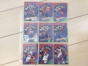 Mint 1995-96 Hoops Toronto Raptors basketball card team set