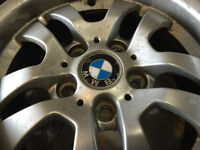 BMW RIMS & TIRES CONTINENTAL MAG SERIE 323I 205/55 R 16 91H