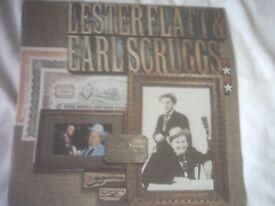 Vinyl LP Lester Flatt & Earl Scruggs Reader's Digest Record 8