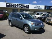 2009 Mitsubishi Outlander ZG MY09 LS Ice Blue 6 Speed CVT Auto Sequential Wagon Wangara Wanneroo Area Preview