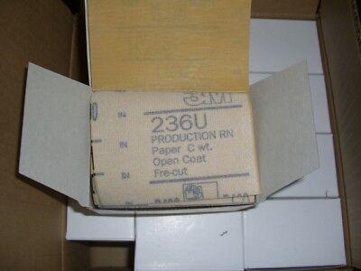 50 Pcs 3m 236u Hookit 3 X 4 Abrasive Sanding Sand Sheets P400 Grit Edp 20944