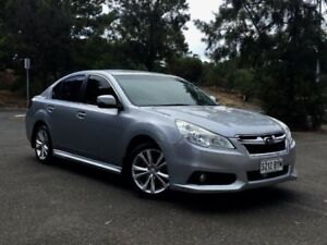 2013 Subaru Liberty B5 MY13 2.5i Lineartronic AWD Premium Silver 6 Speed Constant Variable Sedan