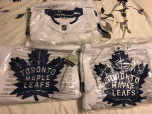 BRAND NEW AUTHENTIC WHITE ADIDAS LEAFS JERSEYS FOR SALE!!