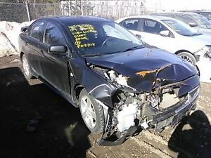 parting out 2009 Mitsubishi lancer