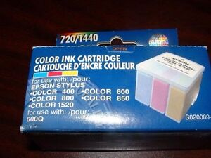New epson printer ink cartridge color