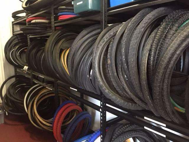 Bicycle Tyres Used and New