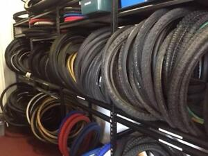 Bicycle Tyres Used and New Port Melbourne Port Phillip Preview