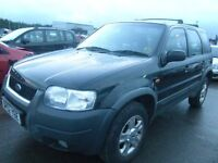 stolen recovered 4x4 freelander & mavrick get ready for winter