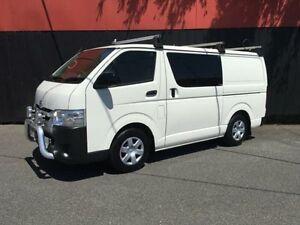 2014 Toyota Hiace TRH201R MY14 White 4 Speed Automatic Van Moorabbin Kingston Area Preview