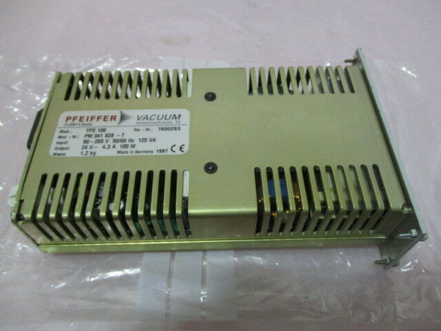 Pfeiffer TPS 100 Turbo Pump Power Supply Controller, PM 041 828-T, 420181