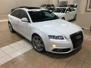 2009 AUDI A6 SLINE*NAVI*CAMERA*BLUTOOTH*PADDLE*MOON*AWD