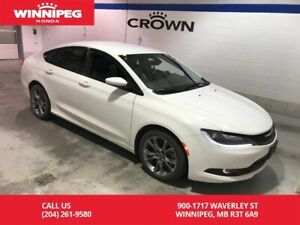2015 Chrysler 200 S/FWD/Bluetooth/Rear view camera/Leather trimm