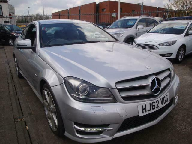 62 MERCEDES C180 AMG SPORT COUPE *LEATHER*SENSORS*CRUISE*   in Thornaby,  County Durham   Gumtree
