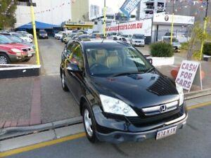 2007 Honda CR-V MY07 (4x4) Black 5 Speed Automatic Wagon Southport Gold Coast City Preview