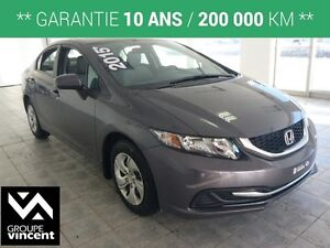2015 Honda Civic LX **SIEGES CHAUFFANTS**