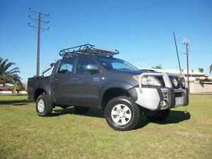 2008 Toyota Hilux KUN26R 07 Upgrade SR5 (4x4) 4 Speed Automatic Dual Cab Pick-up Alberton Port Adelaide Area Preview