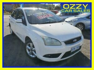 2008 Ford Focus LT LX White 4 Speed Automatic Sedan Minto Campbelltown Area Preview