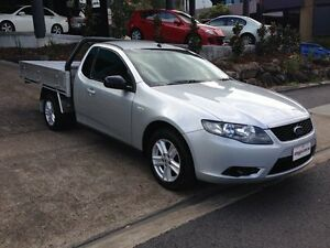 2008 Ford Falcon FG Silver 6 Speed Manual Cab Chassis Bowen Hills Brisbane North East Preview