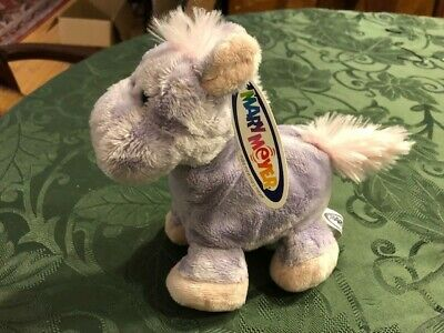 Two for One! Mary Meyer Purple Horse Donkey AND MOOSE Plush Stuffed Animal NWT - Stuffed Animal Horse