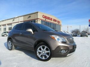 2014 Buick Encore AWD, ROOF, HTD. LEATHER, LOADED!