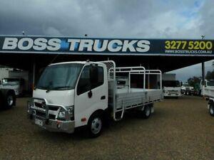 2015 Hino 617 300 White Tray Dropside 4.0l 4x2 Rocklea Brisbane South West Preview