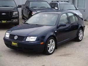 2002 VOLKSWAGEN JETTA GLS 1.8L, FULLY LOADED, HAS SAFETY $3,950