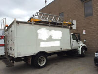 2007 International 4200 with Robert 44D Insulated Ladder/Bucket