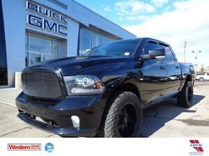 2014 Ram 1500 Sport - 4x4! Lifted, Leather, Sunroof