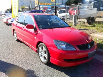 2005 Mitsubishi Lancer CH MY05 VR-X Red 5 Speed Manual Sedan Yeerongpilly Brisbane South West Preview