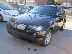2007 BMW X3 3.0si AWD AUTO CLEAN CARPROOF SUNROOF LEATHER AIR