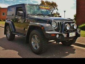 2014 Jeep Wrangler JK MY13 Sport (4x4) Black 6 Speed Manual Softtop Devonport Devonport Area Preview