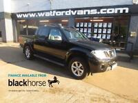 2013 Nissan Navara Tekna 2.5DCi 4x4 Double Cab Pick Up A/C Leather Alloys Blueto