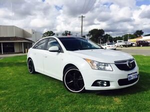 2014 Holden Cruze JH MY14 Equipe White 6 Speed Automatic Sedan Maddington Gosnells Area Preview