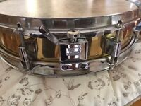 Vintage Pearl Piccolo Snare Drum Brass