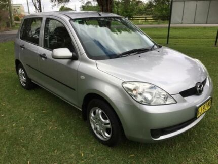 2006 Mazda 2 DY MY05 Upgrade Neo Silver 5 Speed Manual Hatchback Tuggerah Wyong Area Preview