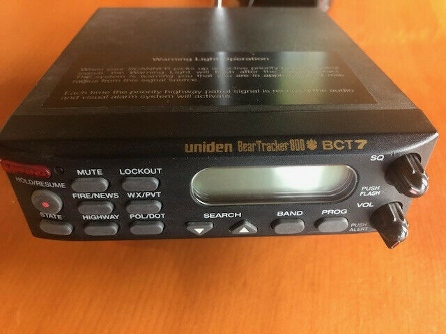 Uniden BCT7 300 Mobile Base Scanner