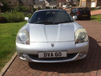 Toyota MR2 Roadster (Facelift) 2003 Low Mileage, New MOT, Many extras, excellent condition