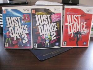 Wii games  Just Dance:  1, 2 and 3 Campbell River Comox Valley Area image 1