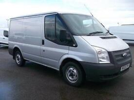 Ford Transit 100T280 SWB LOW ROOF VAN TDCI 100PS DIESEL MANUAL SILVER (2013)
