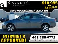 2008 Volkswagen Jetta $109 bi-weekly APPLY NOW DRIVE NOW